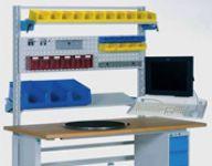 betriebseinrichtungen - aps werkbank mit zubehoer